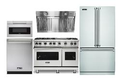 """Viking Kitchen Package With 48"""" Gas Range & Sharp Microwave"""
