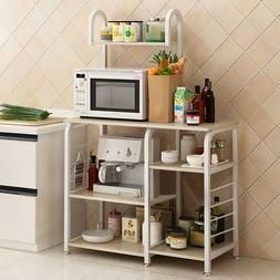Kitchen Rack for Tray Cup Storage Home Shelves Microwave Ove