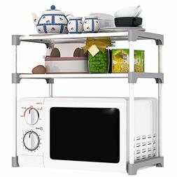 BMKTR-RACK Kitchen Shelf Double Microwave Oven Shelf Storage