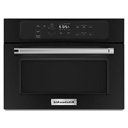 "KITCHENAID KMBS104EBL 24"" Built-In Microwave With 27""/30"" Tr"