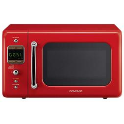 Daewoo Kor -7 Lrer Retro Microwave Oven 0.7 Cu-Ft. 700W Pure