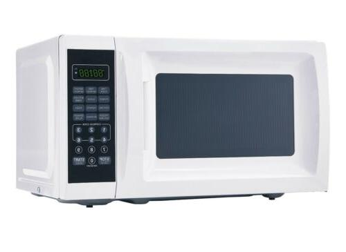 Red Microwave with 10 Power