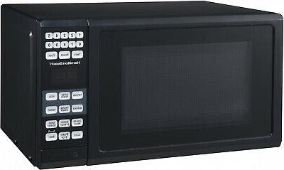 Hamilton Beach 0.7 Cu. Ft. Black Microwave Oven Child Safe