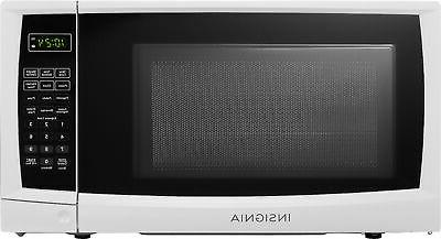 0 7 cu ft compact microwave white