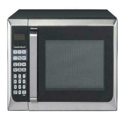 0 9 cu ft stainless steel microwave