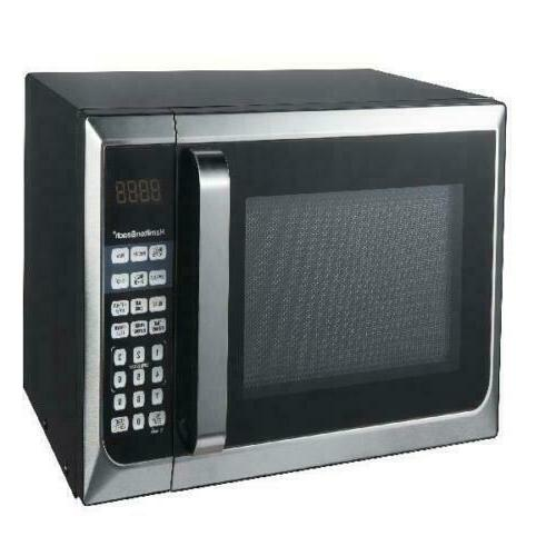 Hamilton 0.9 Ft. Stainless Microwave Oven