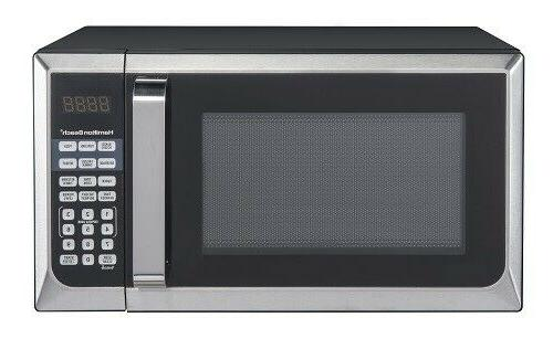 0.9 Cubit Foot Stainless Steel Microwave Oven Kitchen Counte