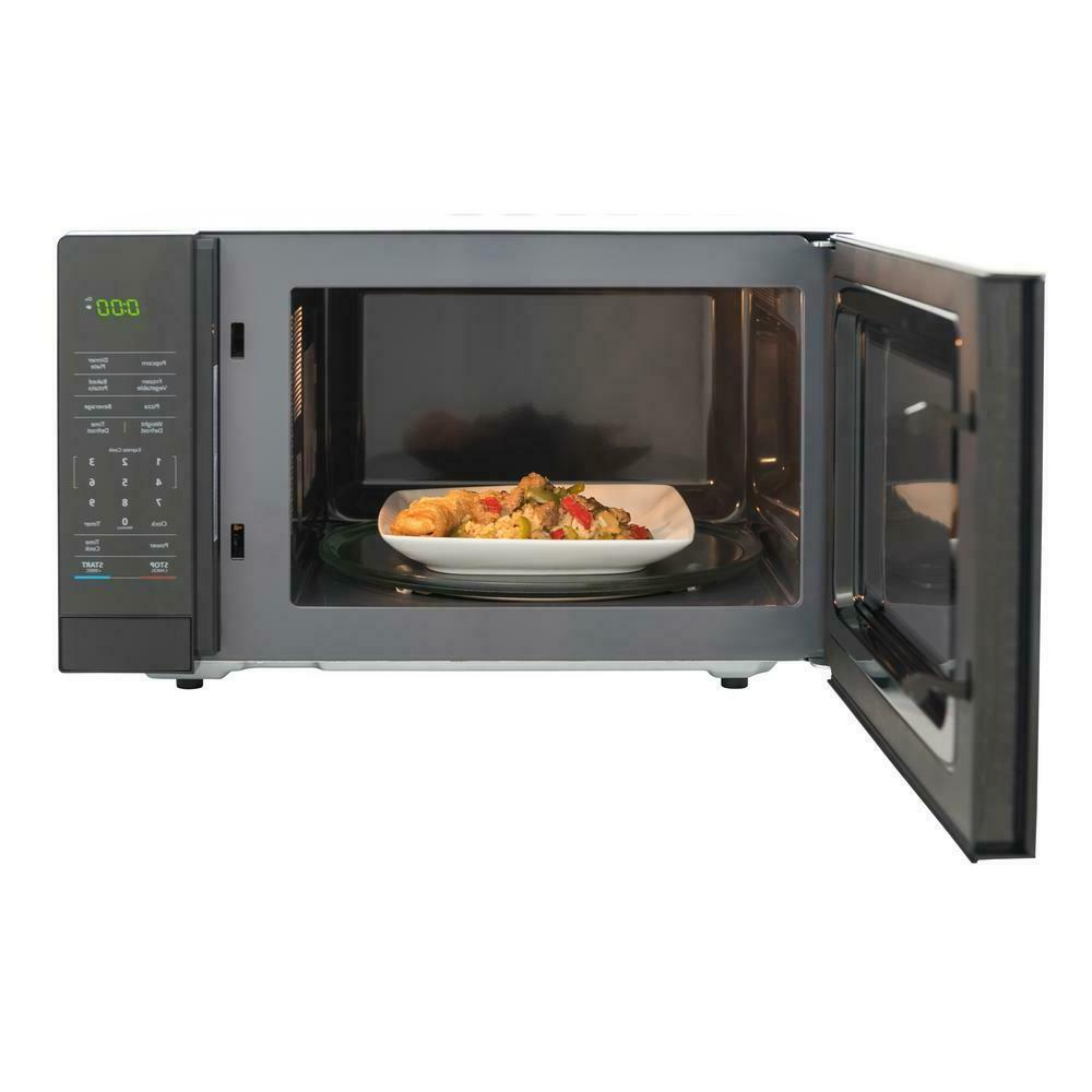 1.1 Countertop Microwave in with Gray Cavity