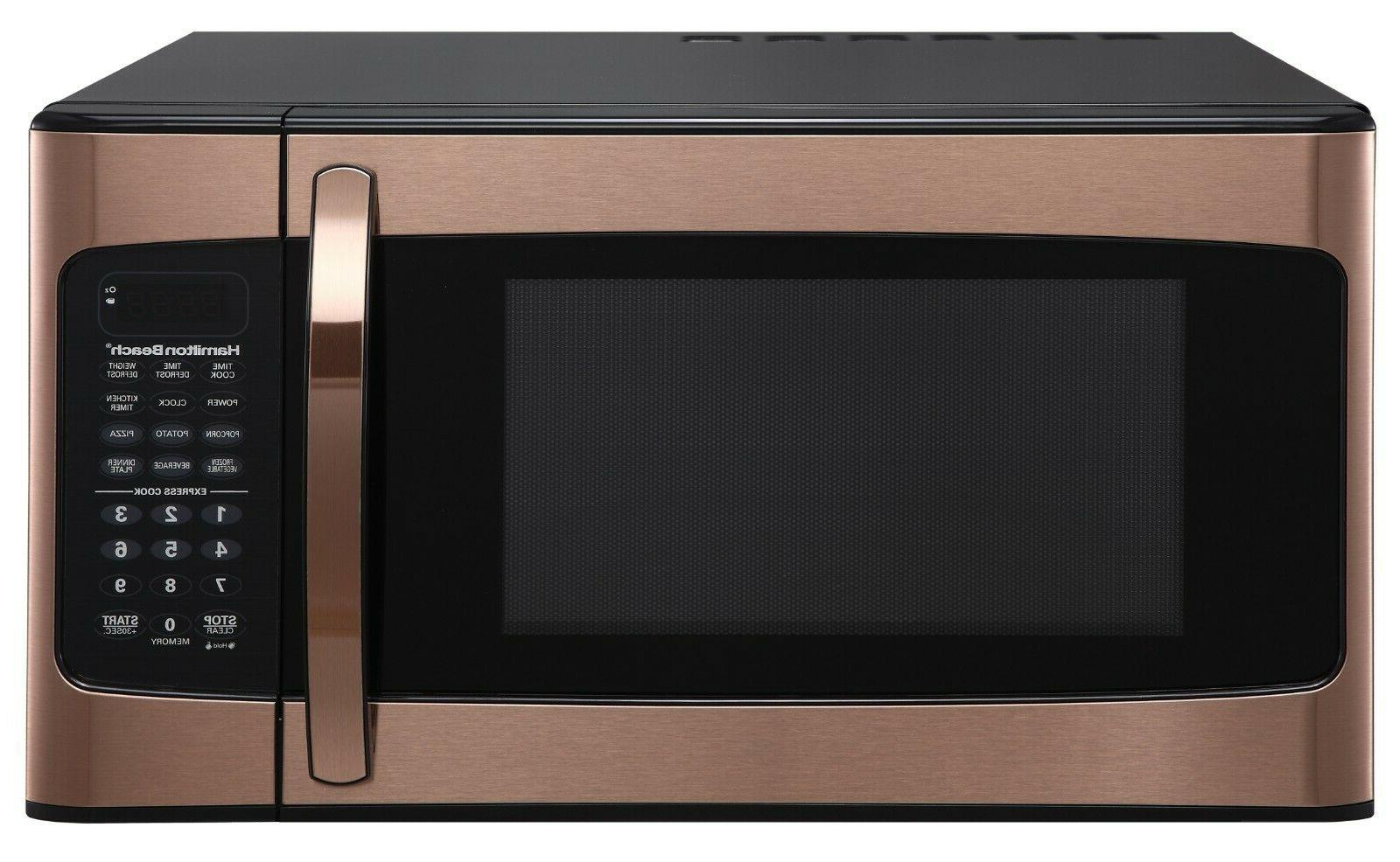 Microwave 1.1 Ft., Elegant Stainless Copper