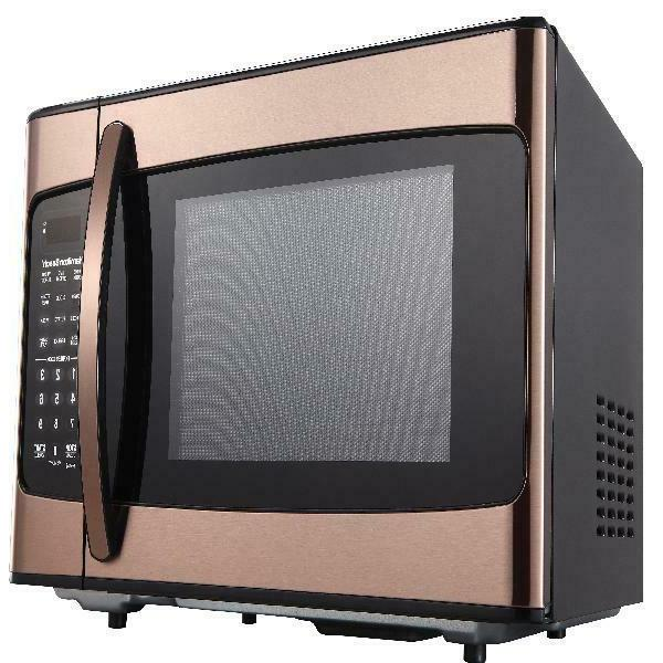 Hamilton Beach 1.1 Cu. Ft. Microwave Oven, Copper
