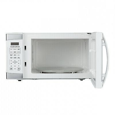Hamilton Beach White With Digital Microwave Oven