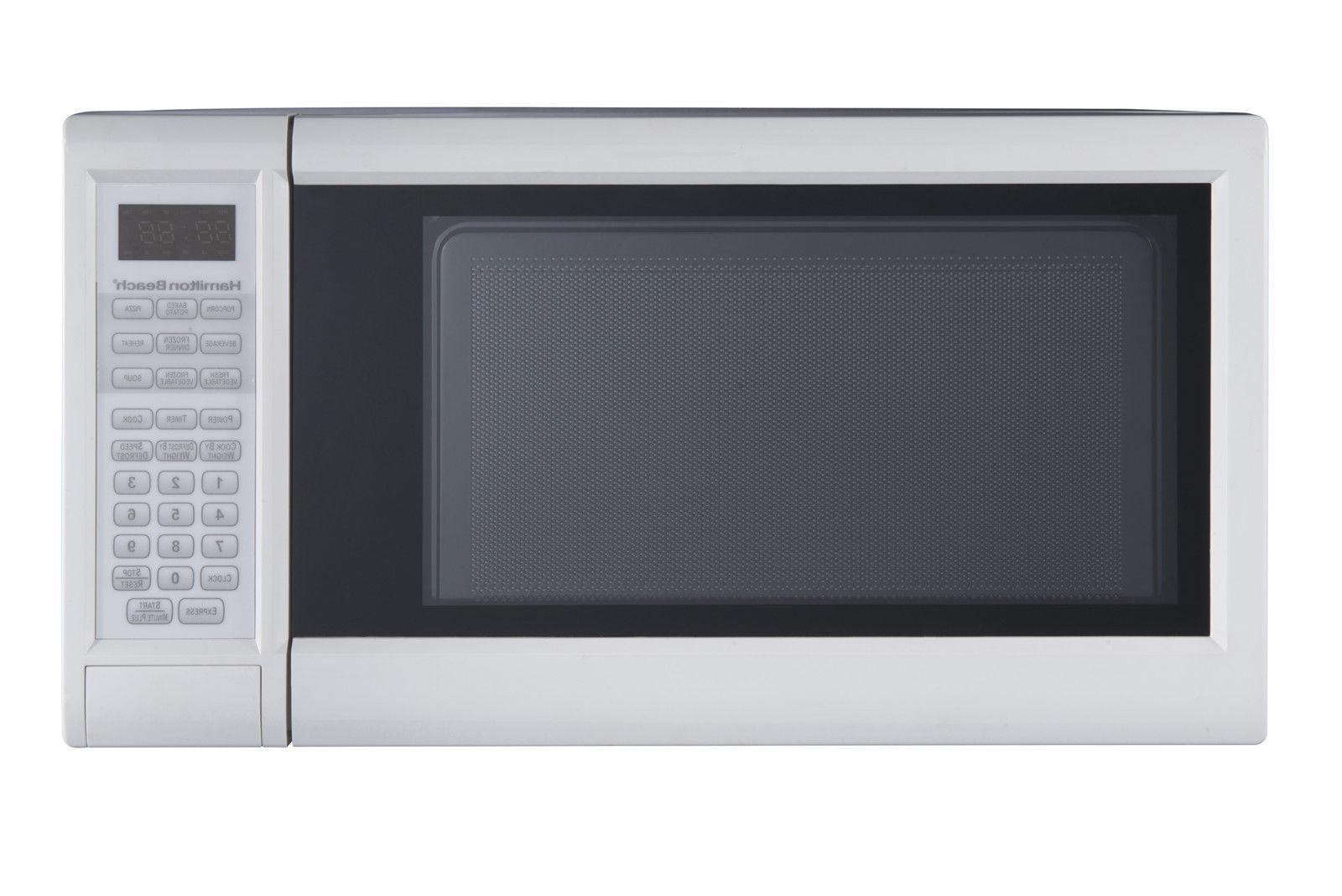 Hamilton 1.3 cu.ft. Digital Microwave Oven Cooking Food Home