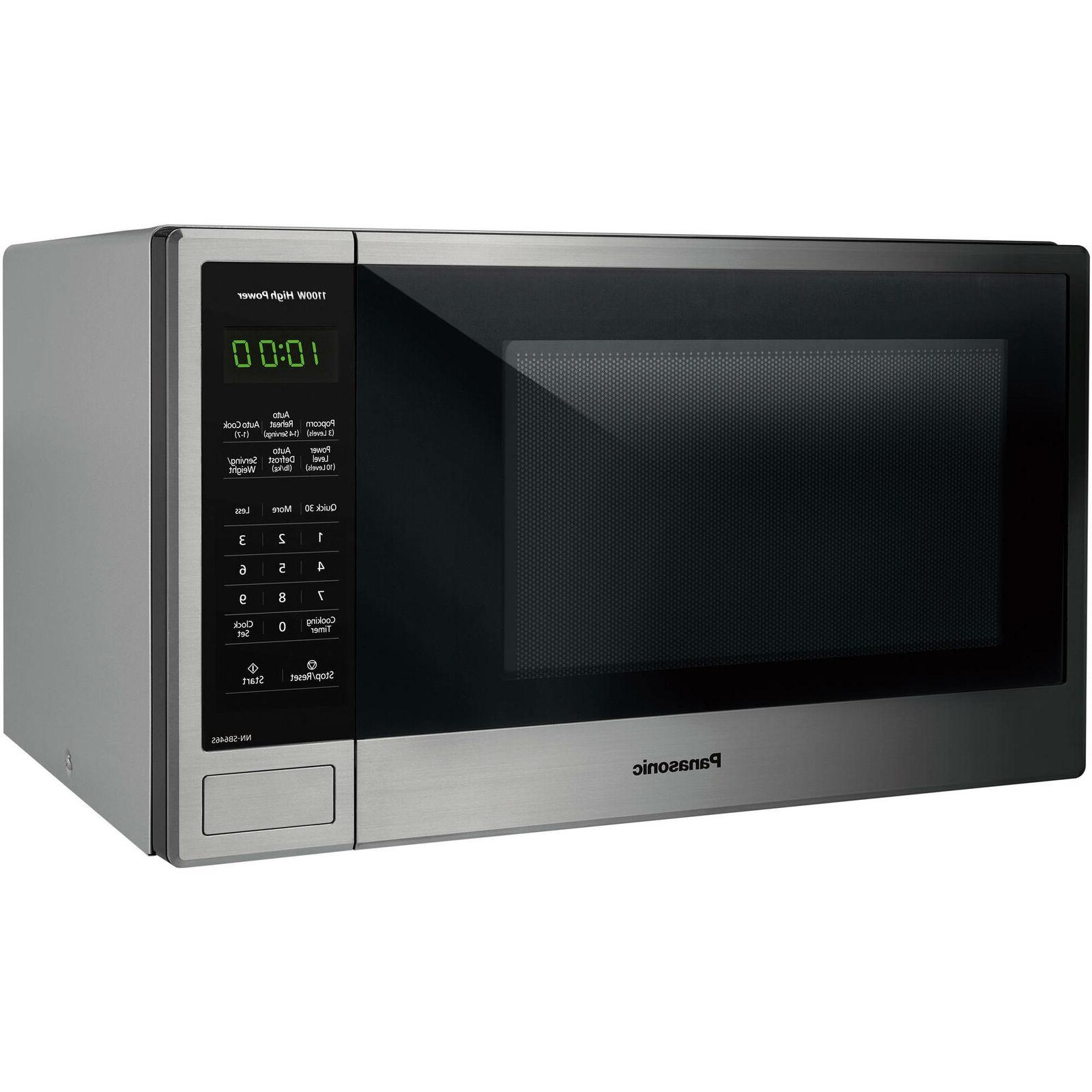 1 3 cu microwave oven with stainless