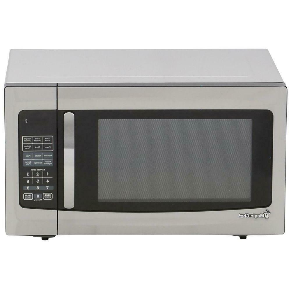 Magic Chef 1.6 cu. ft. Stainless Steel