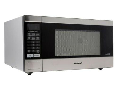 PANASONIC 1.6CU FT MICROWAVE OVEN, STAINLESS STEEL *DISTRESSED PKG