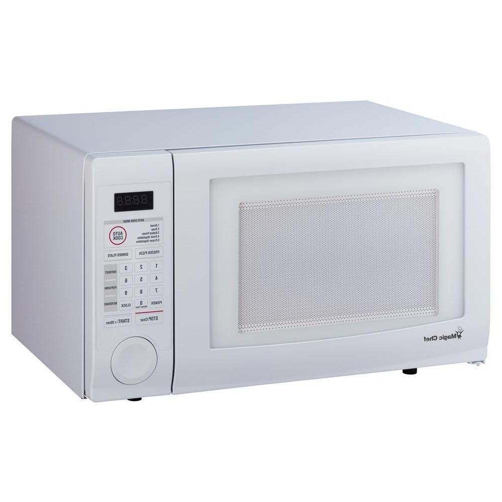 Magic Chef 1000 Watt 1.1 cu. ft. Countertop Microwave in Whi