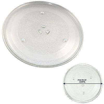 """12.5"""" Glass Turntable Tray for Maytag DE74-20015 DE7420015G"""