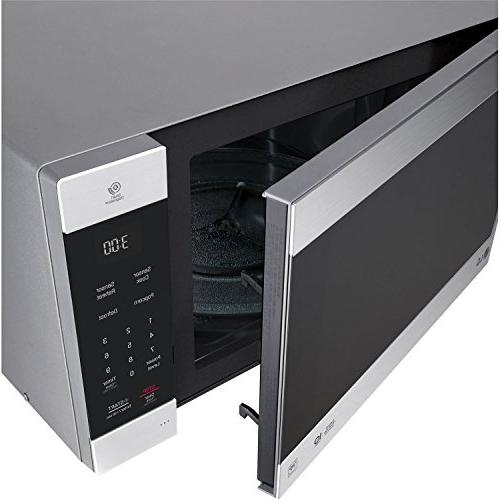 LG Cu. NeoChef Microwave Stainless Steel