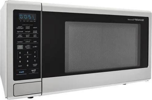 Sharp 2.2 cu Countertop Microwave Stainless SMC2242DS