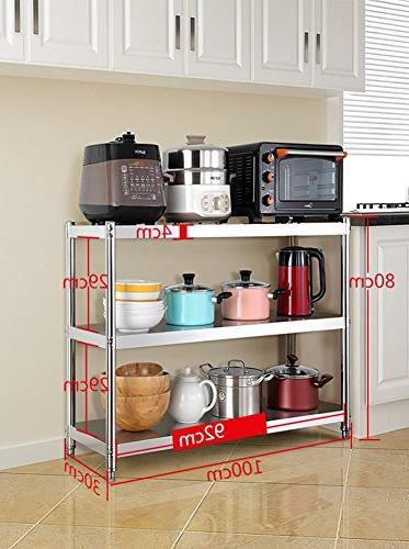 3 Tier Kitchen Microwave Stand