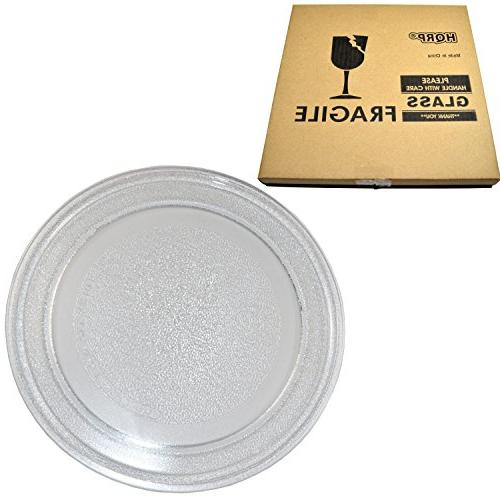 HQRP 9-5/8 inch Glass Turntable Tray for Emerson 3390W1A035