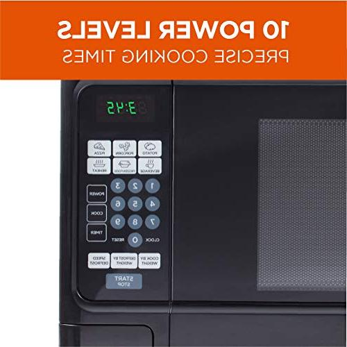 Countertop Microwave Stainless Black Cabinet, CHCM11100B