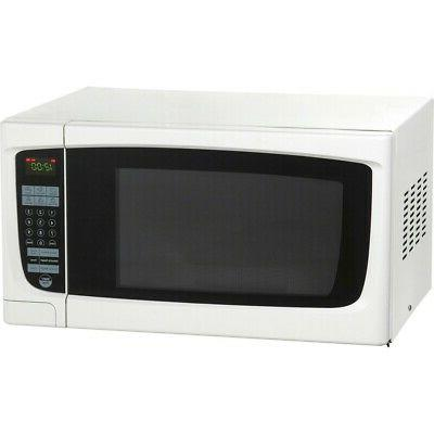 "Electronic Microwave Oven, 1.4 Cubic Feet, 21-3/4""W x 18""D x"