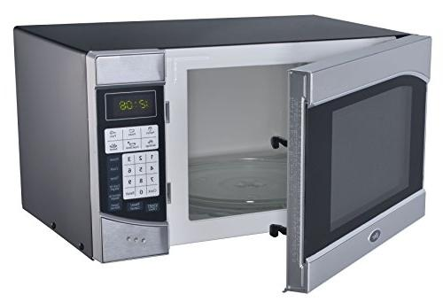 Oster - Cu. Ft. Microwave - Stainless-steel/black