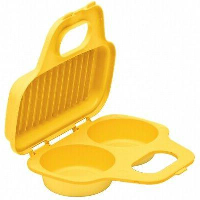 Prep Solutions by Progressive Microwavable Two Egg Poacher