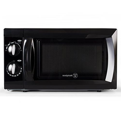 Watt Microwave Oven, 0.6 Feet, Black