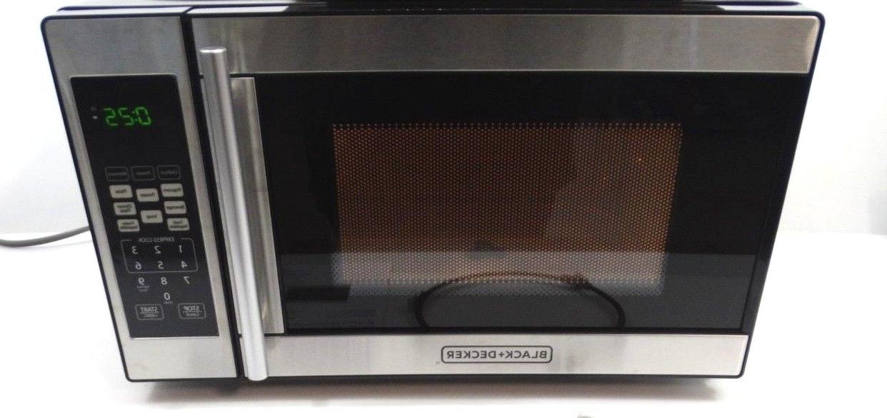 BLACK DECKER 0.7 Cu. Ft. Watt Microwave