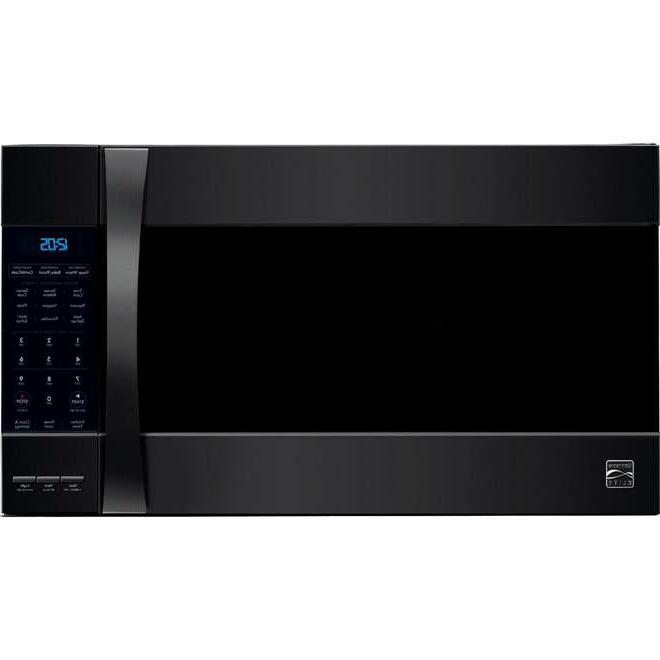 Black Kenmore Convection/ Microwave -Hood combination 80379