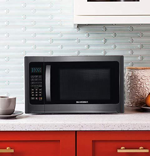 Farberware FMO12AHTBSG Cu. Ft. Microwave Oven with ECO Mode and Lighting,