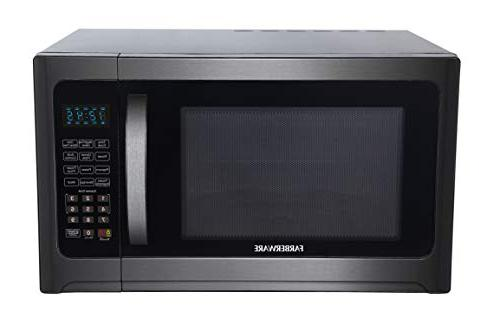Farberware Cu. Ft. 1100-Watt Microwave Oven with Grill with ECO Mode and LED Lighting, Steel