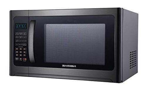 Farberware FMO12AHTBSG 1.2 Cu. Ft. 1100-Watt Oven with ECO LED Lighting, Stainless