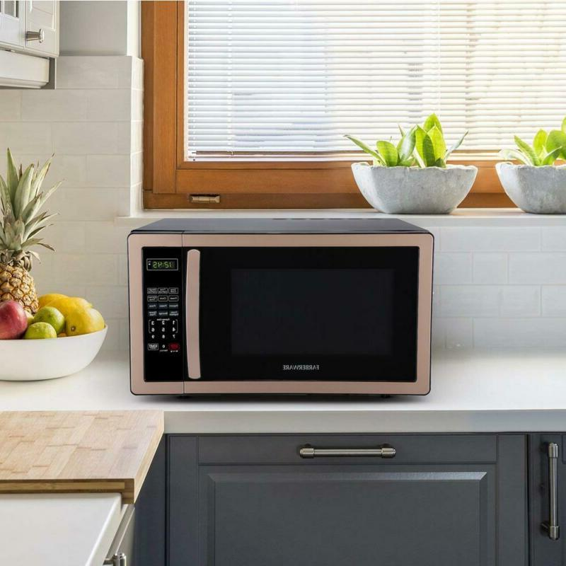 Classic ft. 1000-Watt Countertop Microwave Oven in