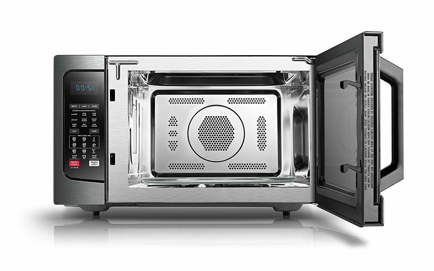 Combination Convection Microwave Stainless Steel Smart LED Dorm