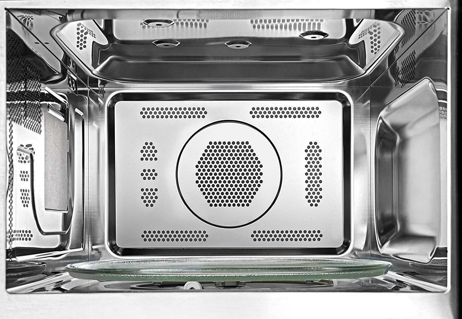 Combination Convection Microwave Oven Stainless Steel LED Dorm Room