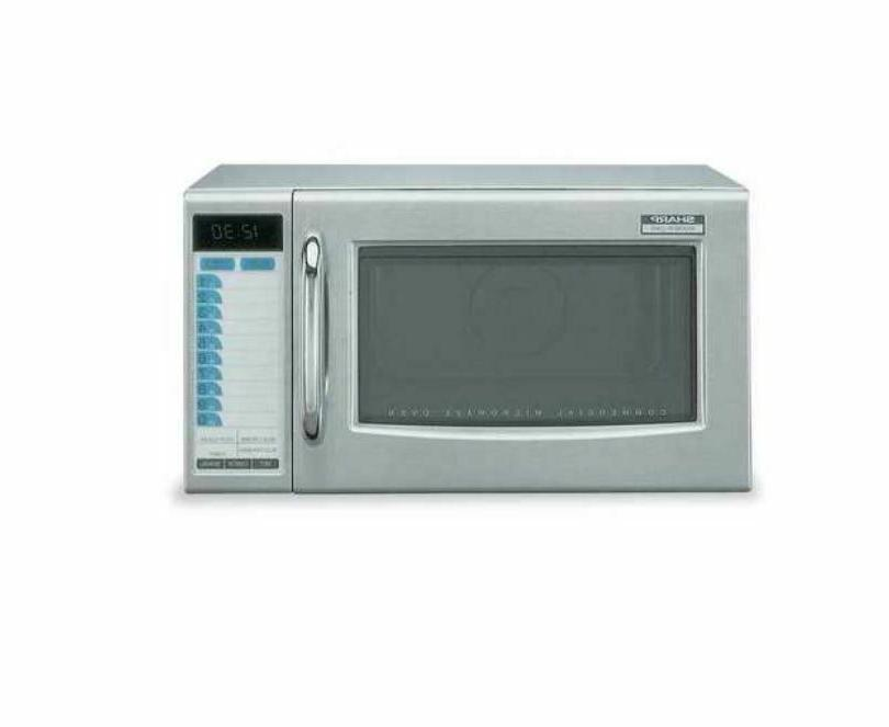 Commercial Microwave NSF 1000 Watt Stainless Steel Professio