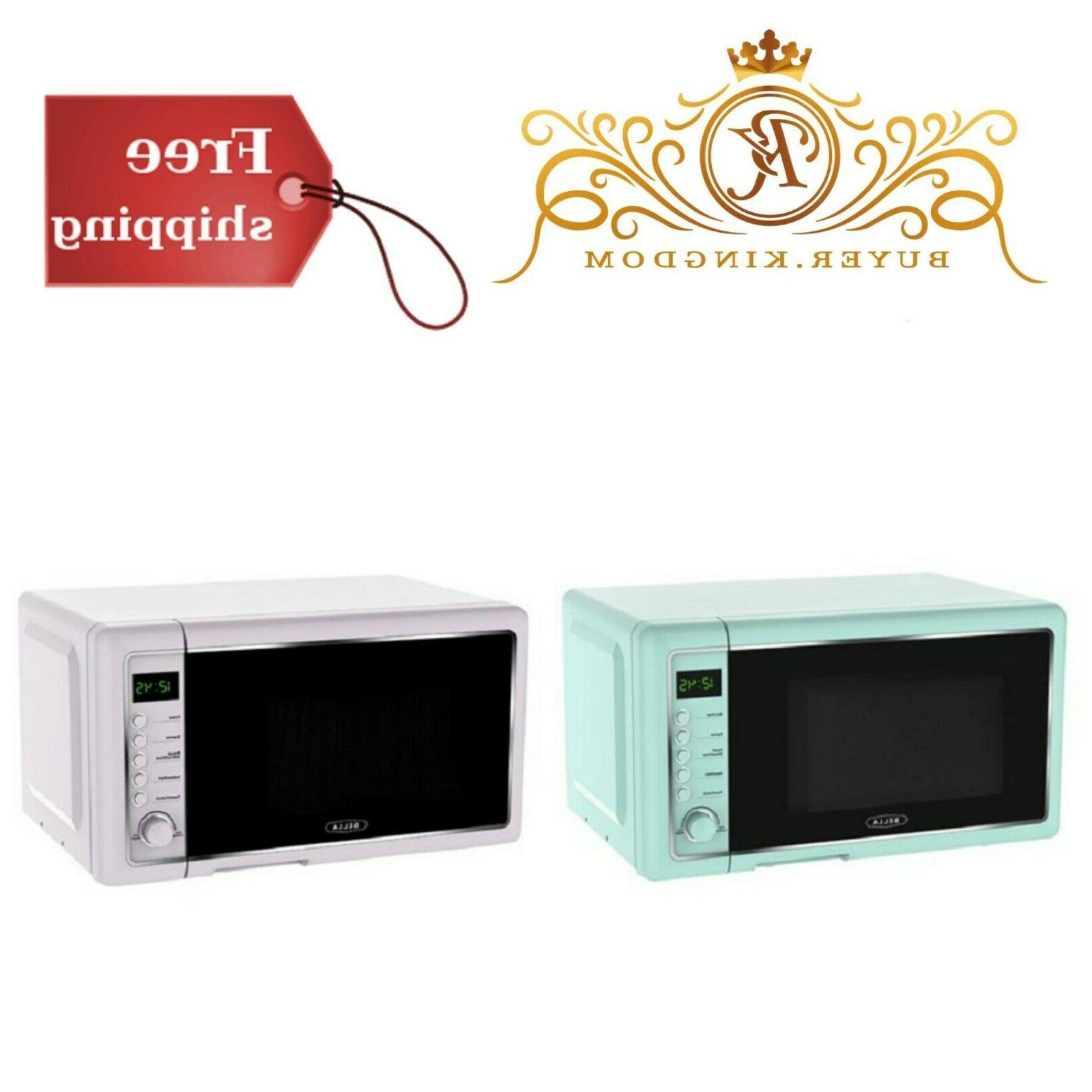compact countertop stylish microwave oven with express