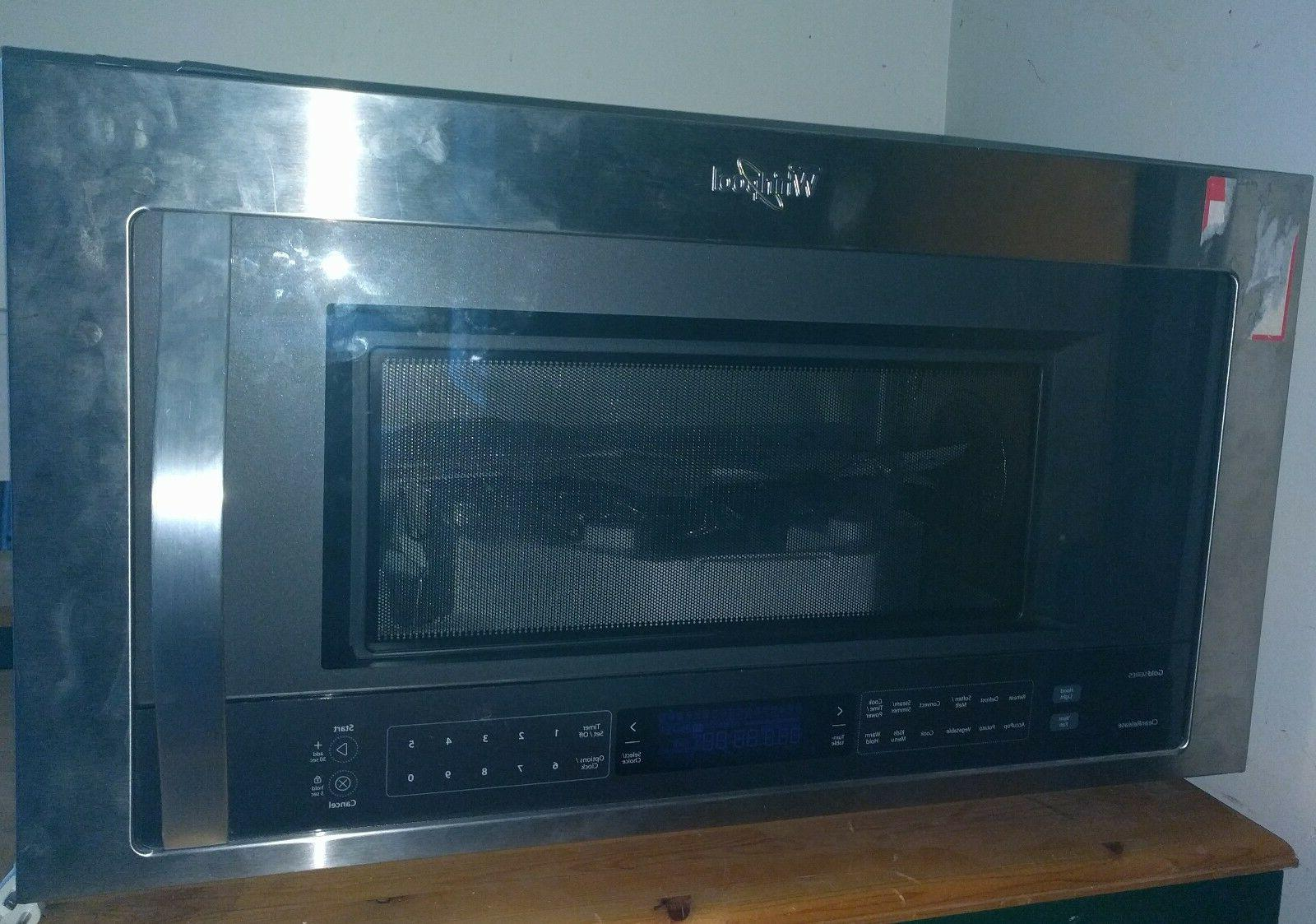"Whirlpool Convection combo oven1.9 CF ""Over The Range"""