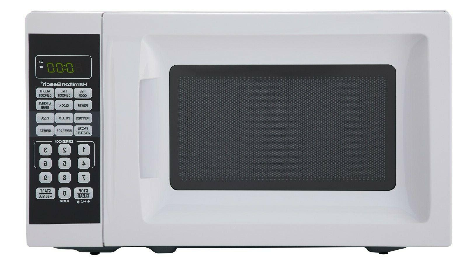 Hamilton Beach 0.7 cu ft Microwave Oven | actualColor: White