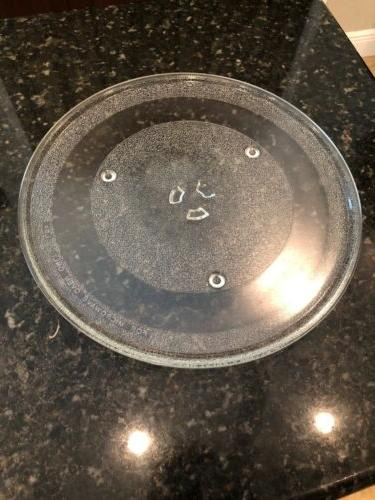General Electric Microwave Glass Turntable Plate / Tray 13 1