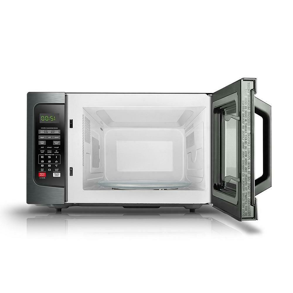 Toshiba Em131A5C-Bs Microwave Oven With Smart Sensor Easy Cl