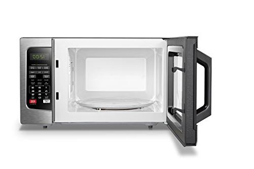 Toshiba EM131A5C-SS Microwave Oven Clean and Sound Cu.ft, Stainless Steel