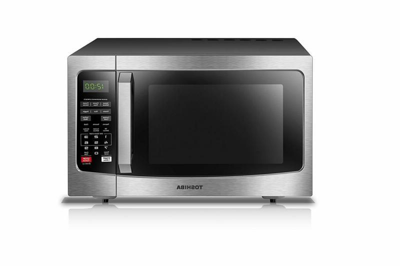 Toshiba Microwave Oven With Sensor, Clean Interior, Eco