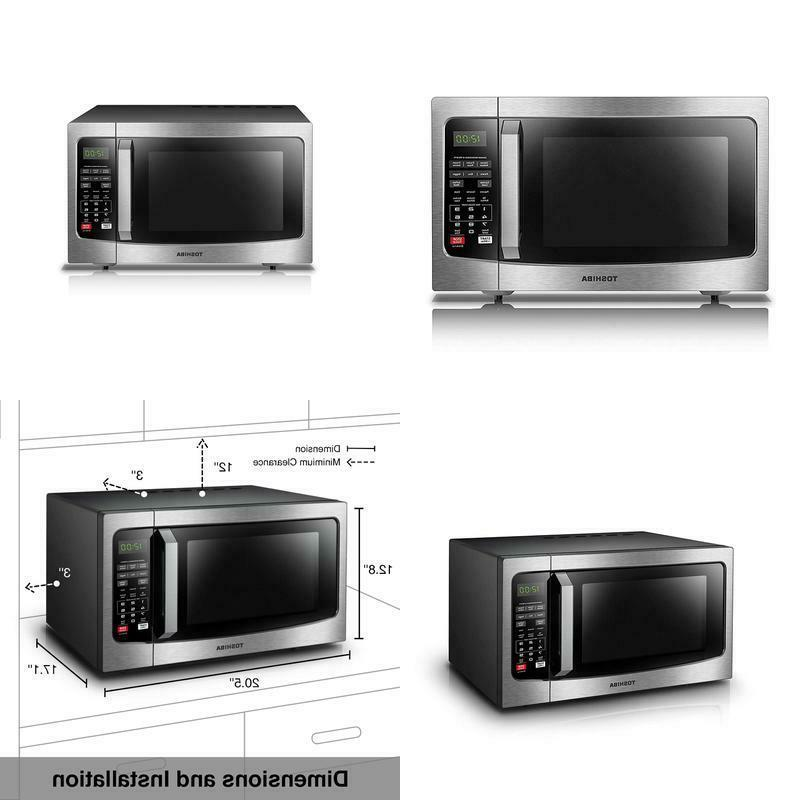 em131a5c ss microwave oven with smart sensor