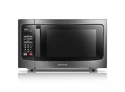Toshiba EM245A5C-BS Intertech Microwave Oven Black Stainless