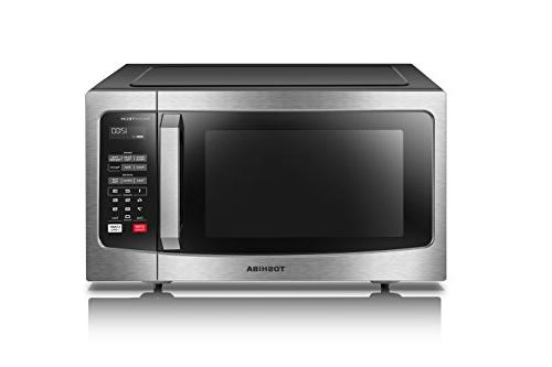 Toshiba with Display and 1.6 Cu.ft/1250W, Steel