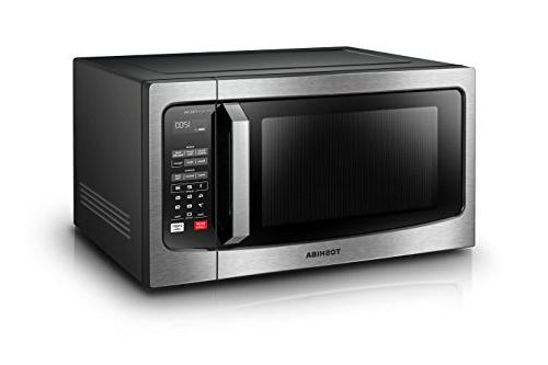 Toshiba EM245A5C-SS with LCD Display and Smart 1.6 Cu.ft/1250W,